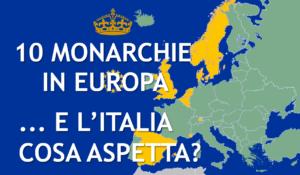 Monarchie Costituzionali in Europa