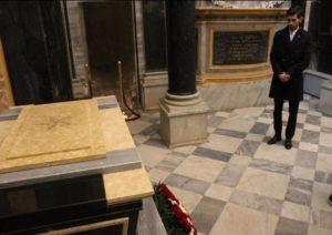 COMUNICATO del nostro segretario nazionale, Simone Balestrini, sul ritorno in italia delle salme della Regina Elena Del Montenegro e di Vittorio Emanuele III e la loro collocazione nel santuario di Vicoforte.