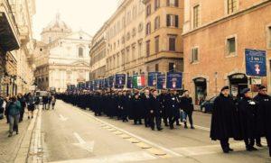 Celebrazioni per il 140esimo anniversario della fondazione dell'Istituto delle Guardie d'Onore alle Reali Tombe del Pantheon