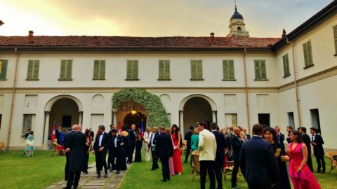 I Giovani Monarchici alla Cena di Gala della Delegazione Lombarda degli Ordini della Real Casa di Savoia