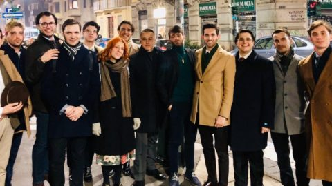 Aperitivo dei Giovani Monarchici a Milano