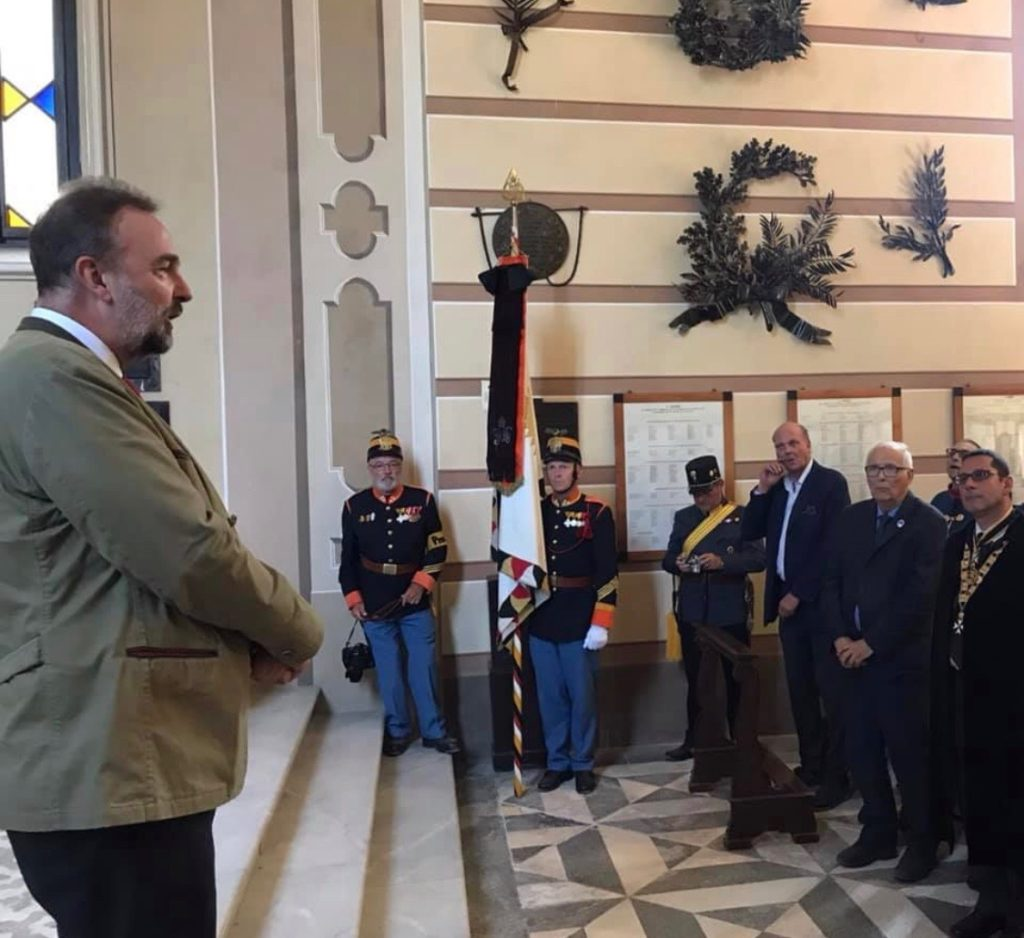 Lunedì 24 maggio 2019 presenti a Solferino per la commemorazione dei soldati italiani e austriaci caduti durante le battaglie di Solferino e San Martino.