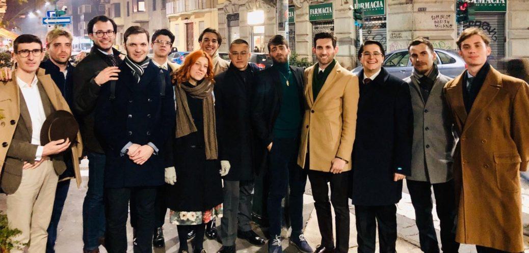 Aperitivo Giovani Monarchici a Milano 30 gennatio 2020