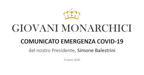 COMUNICATO EMERGENZA COVID-19