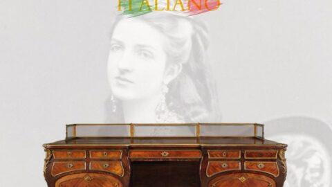All'asta la scrivania commissionata dalla Regina Margherita
