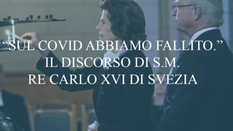 """""""Sul COVID abbiamo fallito"""". Il discorso di Carlo XVI sulla situazione in Svezia."""