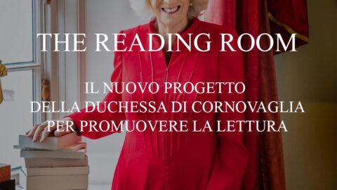 """""""The Reading Room"""": il progetto della Duchessa di Cornovaglia per promuovere la lettura."""