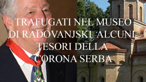 Trafugati nel museo di Radovanjski alcuni tesori della corona serba